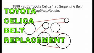 35 2001 Toyota Corolla Serpentine Belt Diagram