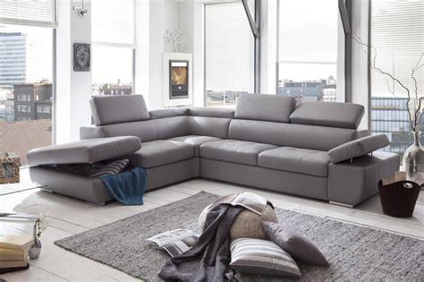 canapé d angle chez but canapé d 39 angle en cuir gris pas cher