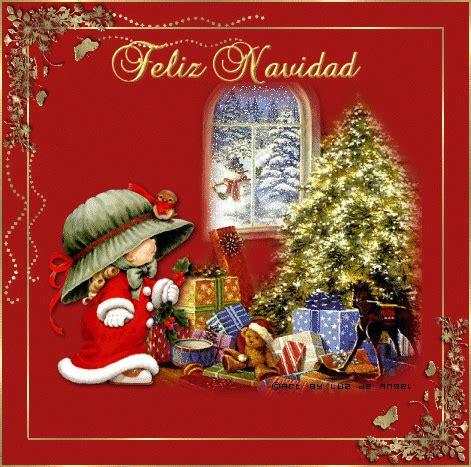 Desgarga gratis los mejores gifs animados de feliz navidad