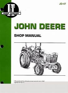 John Deere 850 950 1050 Service Shop Repair Manual