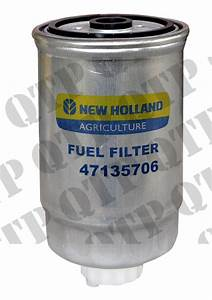 Fuel Filter Case Ford Fiat New Holland