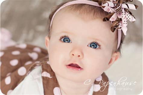 Baby Girl With Blue Eyes  Wwwpixsharkm Images