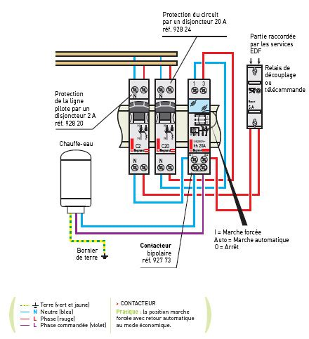 fontionnement contacteur jour nuit forum electricit 233