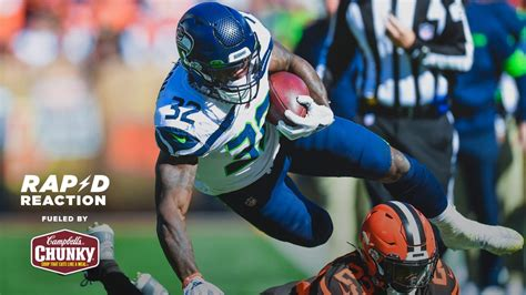 week  rapid reaction seahawks  browns