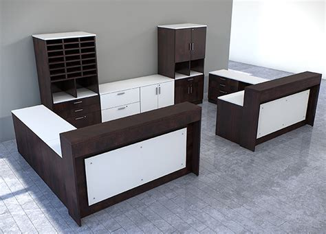 custom office desk furniture custom reception desk hostgarcia