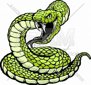 Striking Viper or Coiled Snake | Clipart Panda - Free ...