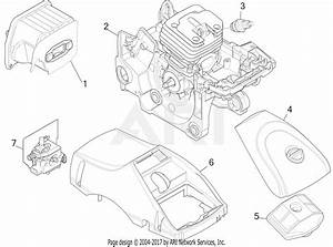 Mtd Rm4216 41ay427s983 Parts Diagram For Engine Assembly