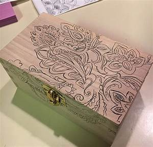 Add Some Color to a Wooden Recipe Box Hometalk