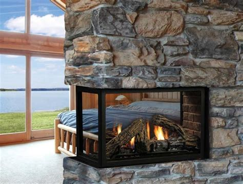 Double Sided Electric Fireplace Wall ? Home Ideas