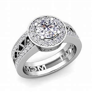 create roman numeral rings my love wedding ring With roman numeral wedding ring