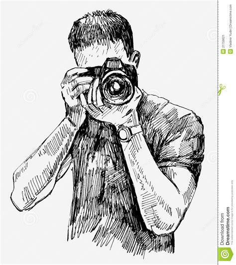 vector photographer stock vector illustration of device 21759621