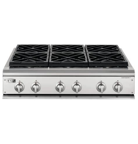 ge monogram  professional gas cooktop   burners liquid propane zgulhss ge