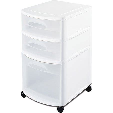 sterilite 5 drawer cart sterilite ultra 3 drawer cart set of 2 walmart
