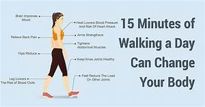 Get All the Benefits of Walking in Just 15 Minutes a Day Walking and Your Health