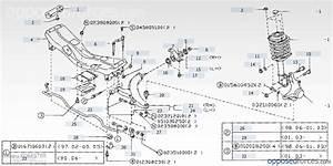 Diagram Of Front Suspension 2003 Subaru Forester  Subaru  Auto Parts Catalog And Diagram