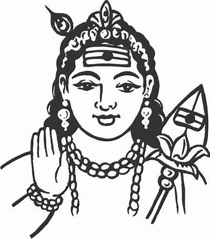 God Clipart Murugan Vector Indian Lord Clip