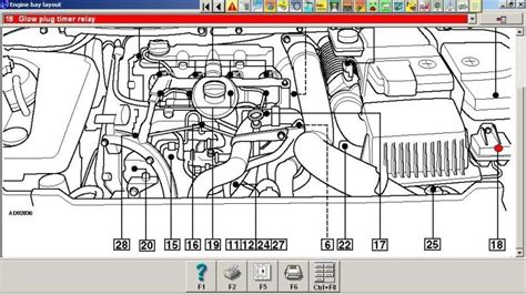 Peugeot Glow Relay Wiring Diagram by Peugeot 307 Hdi Engine Diagram Automotive Parts Diagram