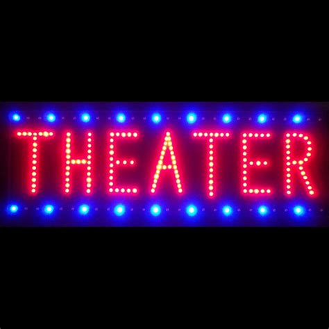 star theatre neon theater sign theater room signs