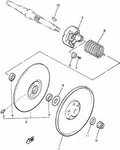 30 Yamaha G1 Golf Cart Parts Diagram
