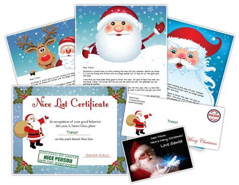 santa letter  personalized letters  santa