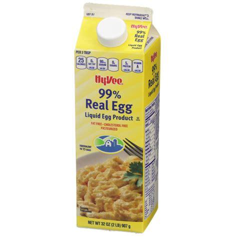 Hy-Vee 99% Real Egg Liquid Egg | Hy-Vee Aisles Online ...