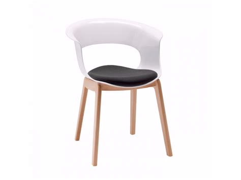 chaise combelle polycarbonate chair miss b antishock by scab
