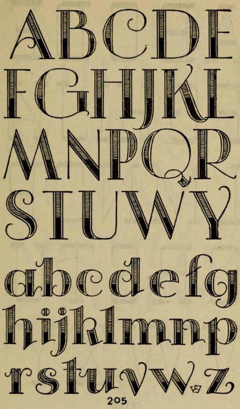 cool letter fonts decorative alphabet studio handbook lettering 22738