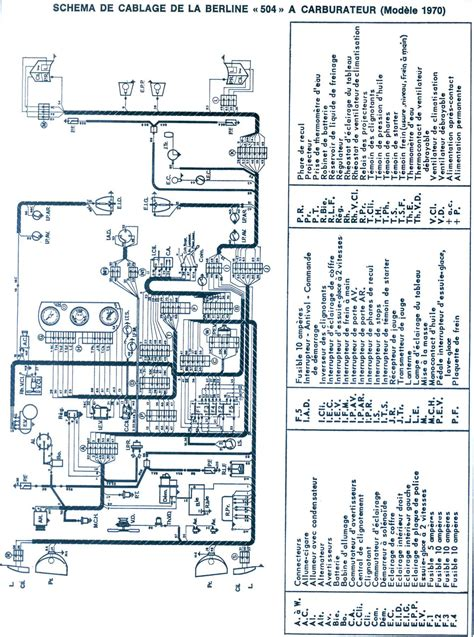 Peugeot 505 Wiring Diagram by 504 Wiring Diagram
