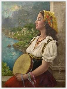 Image detail for -gene pressler american b 1893 gypsy girl ...