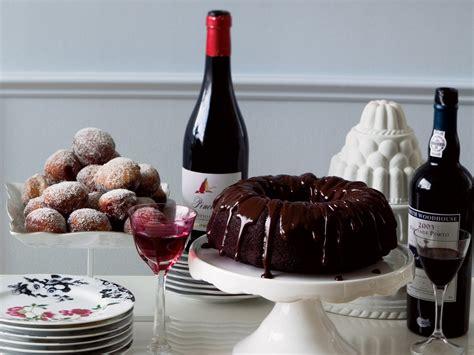 double chocolate bundt cake  ganache glaze recipe
