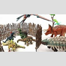 New Dinosaur Puzzle With Jurassic World 2! Lego Dinosaur For Kids Trex, Triceratops Toys In