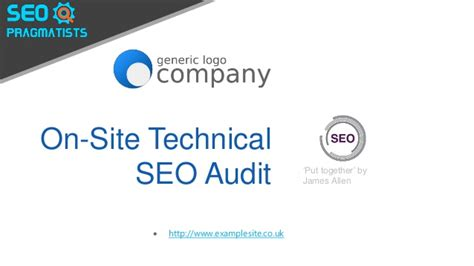 On Site Seo by On Site Seo Audit Exle