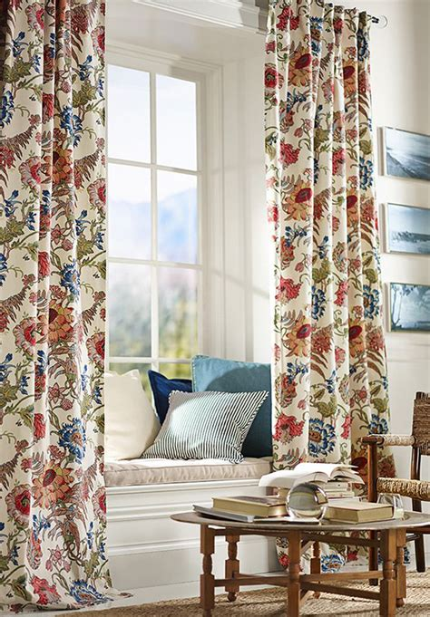 pottery barn curtains how to hang your curtains