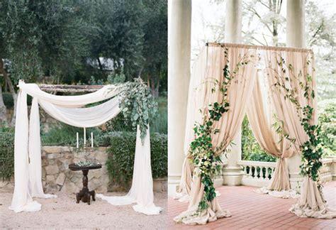 wedding decor backdrop 5 beautiful and easy diy wedding backdrops confetti ie Diy