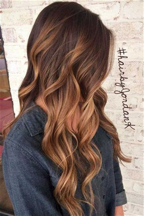 Colors To Dye Brown Hair Tips by 25 Best Ideas About Hair Colors On Summer