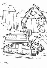 Diggers Colouring Digger Coloring Tractor Digging Searches Recent sketch template