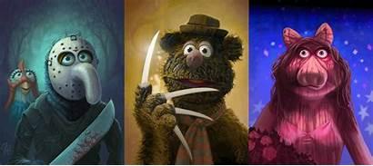 Horror Characters Muppets Villains Jason Artist Muppet