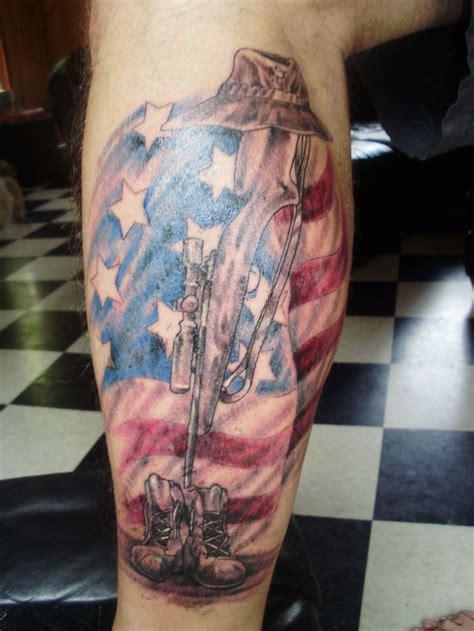 sleeve tattoo ideas army military tattoo designs police
