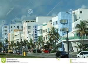 deco district south miami fl editorial stock image image 23148759