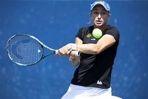 Women's tennis' senior aces finish home play by blanking ...