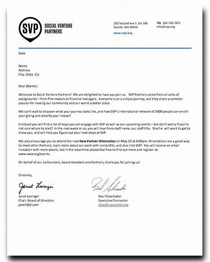 Letter Welcome Recruiting Partner Partners Social