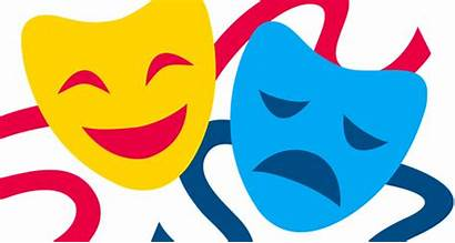 Masks Theatre Clipart Broadway Arts Performing Theater