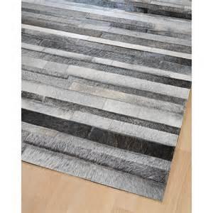tapis de cuisine gris tapis en patchwork de cuir gris jacob home spirit 200x300