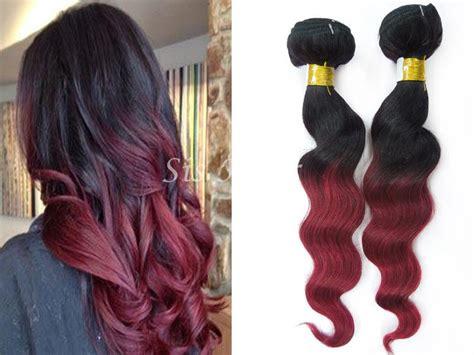 {1 Bundle} 8a Ombre Brazilian Remy Hair Loose Wave T1b