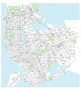 U2018first Full Transit Diagram Of Nyc Ever U2019 Shows Subways And