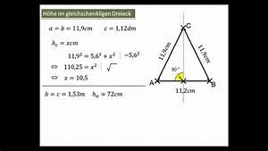Winkel Messen Ohne Geodreieck : 9 6 1 h he im gleichschenkligen dreieck youtube ~ Orissabook.com Haus und Dekorationen