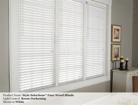 faux wood custom blinds photo gallery