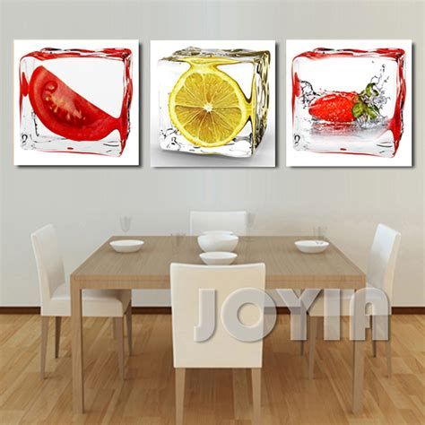 wall decor contemporary centerpieces for dining room aliexpress com buy 3 panel modern wall art dining room