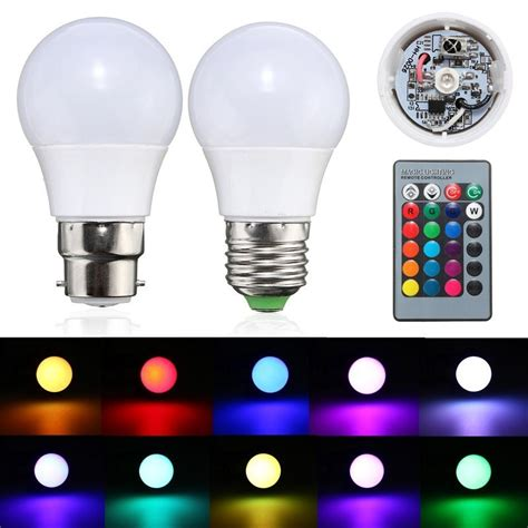 color changing light bulbs 3w e27 b22 dimmable rgb led light color changing l bulb