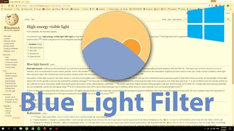 blue light filter for laptop how to get blue light filter in windows 10 f lux youtube